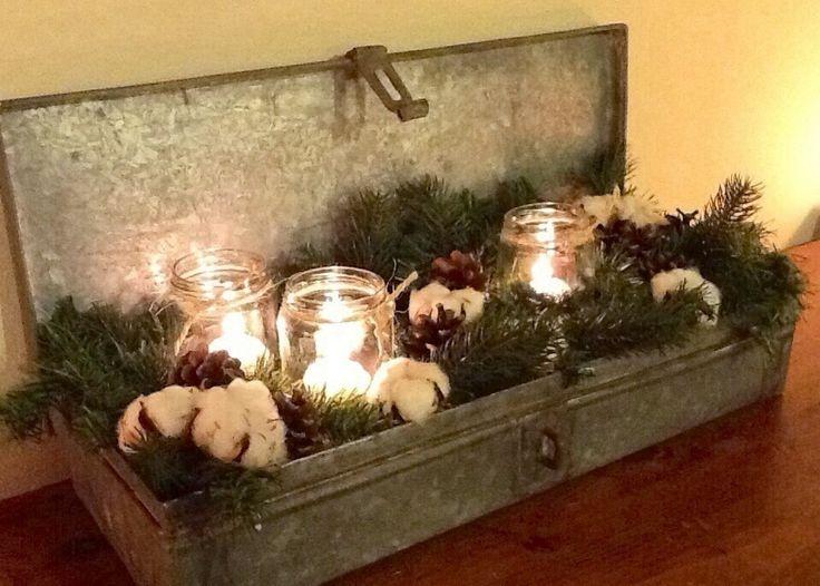 Una decorazione di recupero per Natale al VERDE