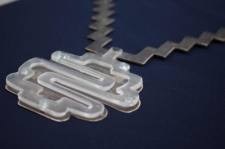 Nickel silver necklace