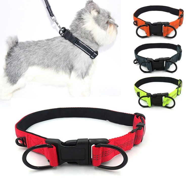Reflective Dog Collar Nylon Night Safety Large Pet Necklace With Adjustable Buckle Dogs Collars Pets Supplies TB Sale. Yesterday's price: US $6.25 (5.13 EUR). Today's price: US $3.94 (3.23 EUR). Discount: 37%.