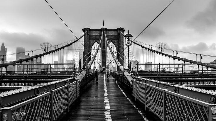 Brooklyn Bridge in BW by Gautam Gupta on 500px