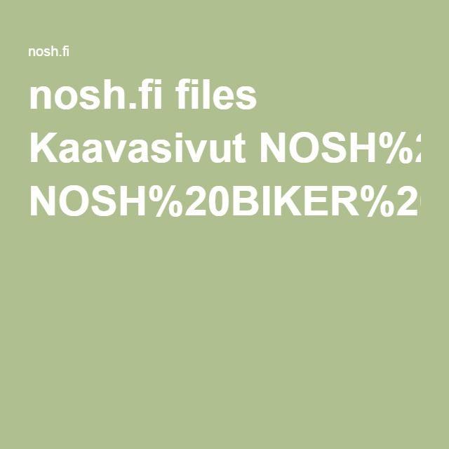 Noshin Biker-housut