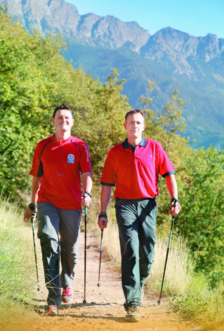 Nordic Walking auf dem Sonnenberg
