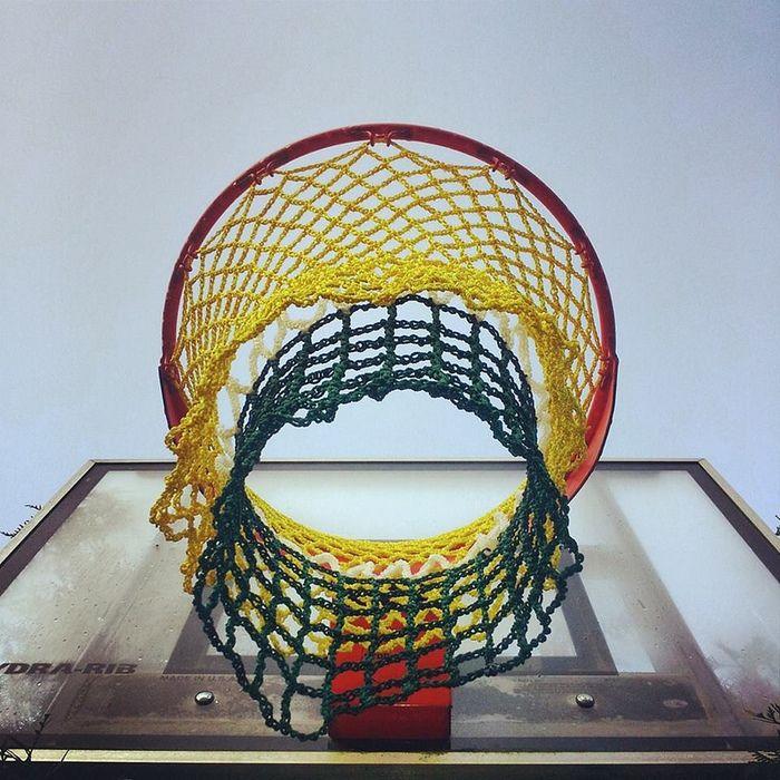 Kickstarter: Crochet Basketball Nets for Neglected Hoops