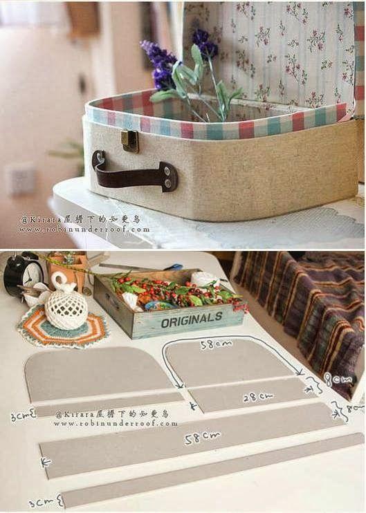 Rétro valise - cartonnage - Bricolage - * My Dream House *