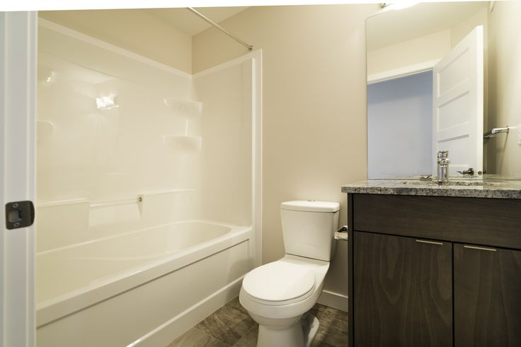 Bathroom with granite counter-top!
