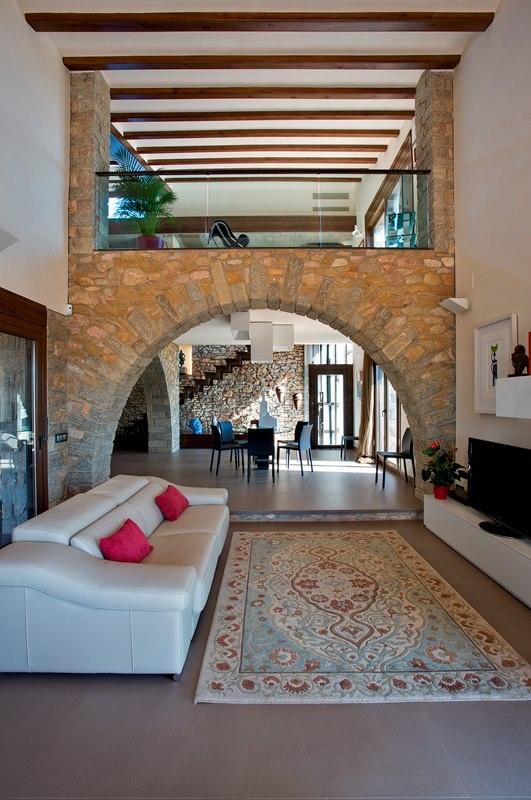 Interior de la vivienda,