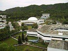 GIK  institute from clock tower