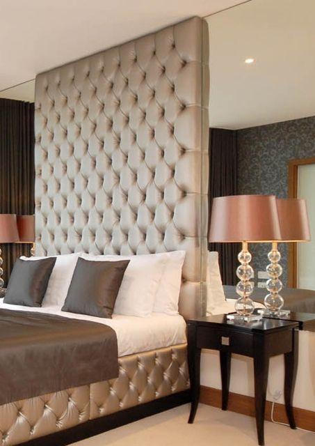 Padded Headboard Custom Made Decor Pinterest Bedroom Designs And Furniture