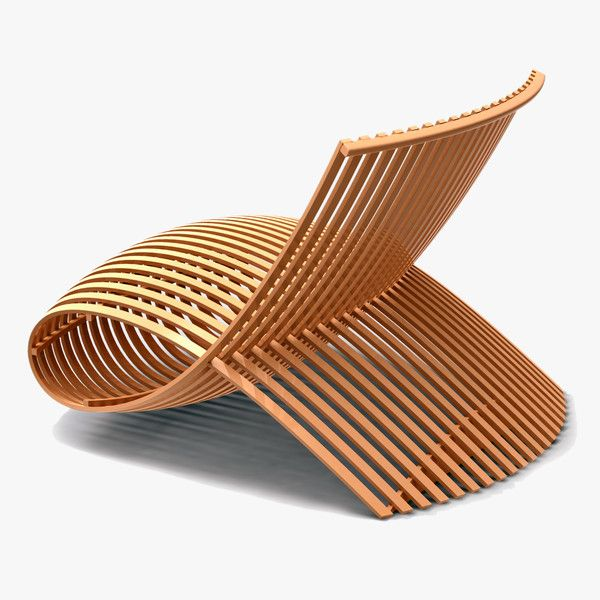 """Wooden Chair"" (Cappellini), Design: Mark Newson, 1992"