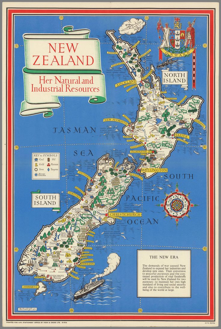 New Zealand, Her Natural and Industrial Resources (1943)