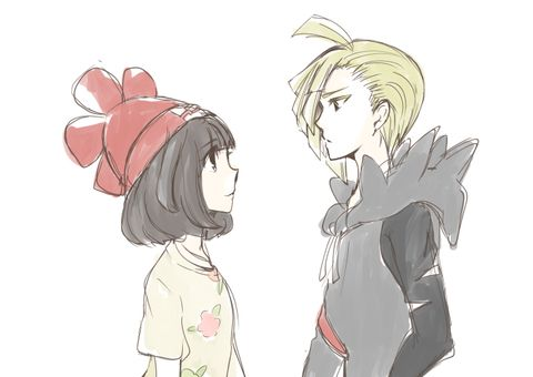 i ship the main character with gladion so much omg