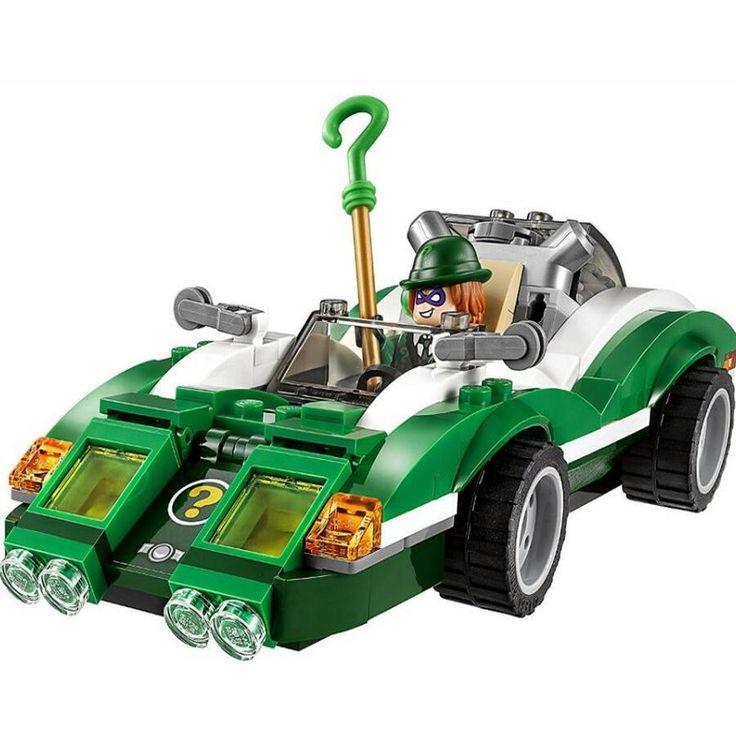 07059 LEPIN Batman Series The Riddler Riddle Racer Model