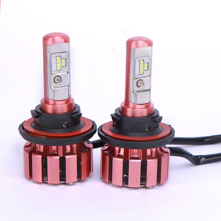 37.99$  Watch now - http://alii9e.shopchina.info/1/go.php?t=32811948183 - 2PCS Car Headlight Bulb Kit Hi Lo Beam 12V 24V Lumileds LED Chip Auto Head Light Spot lamp Automobile headlamp H1 H3 H4 H7 H11  #bestbuy
