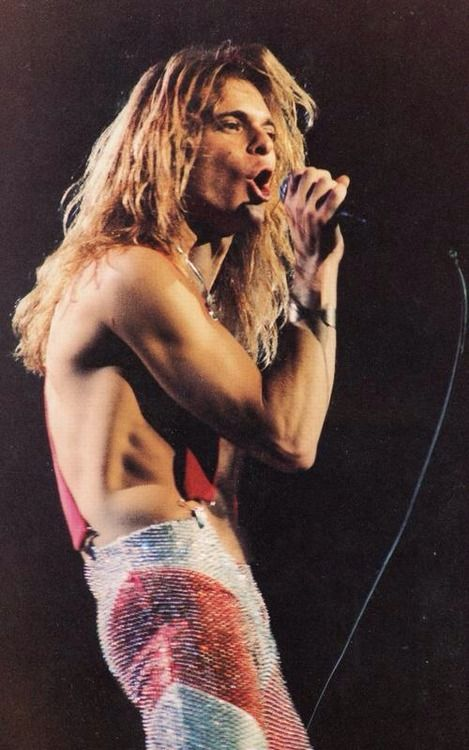 David Lee Roth - shame he went all 'Ice Cream Man' on us....