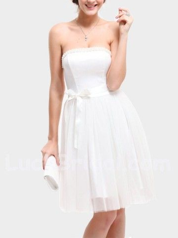 Short White Party Dresses Homecoming Dresses