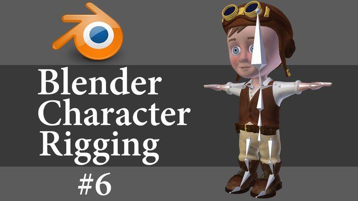 Blender Character Modeling Tips : Best rigging czyli przygotowanie do animacji images