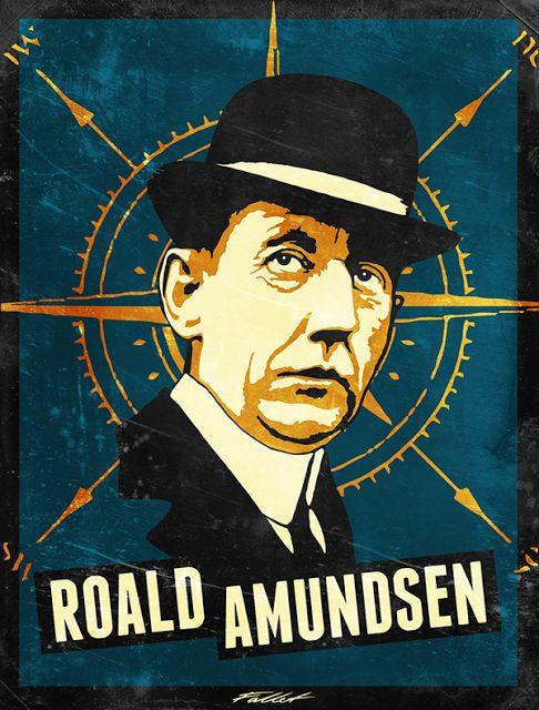 Norwegian explorer Roald Amundsen