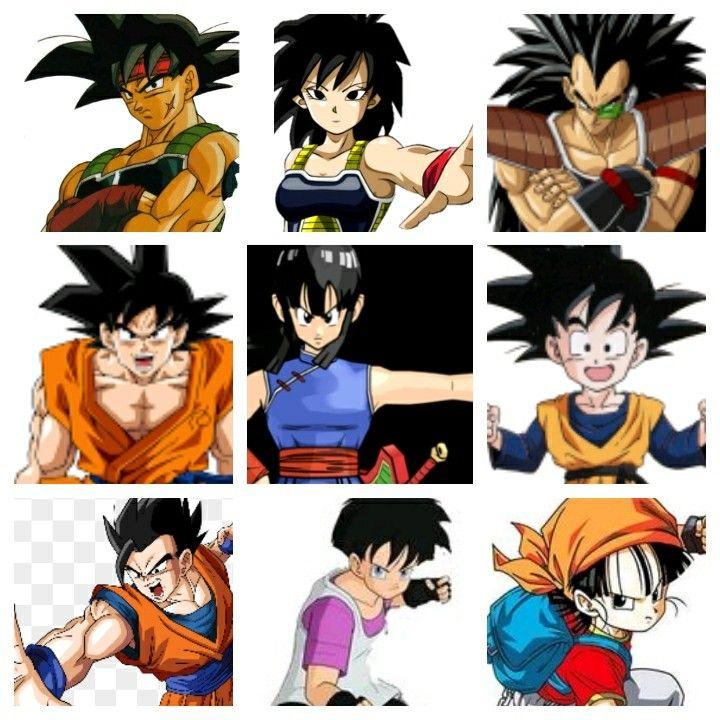 Goku Entire Family Tree Family Tree L Miss You Cartoon Network