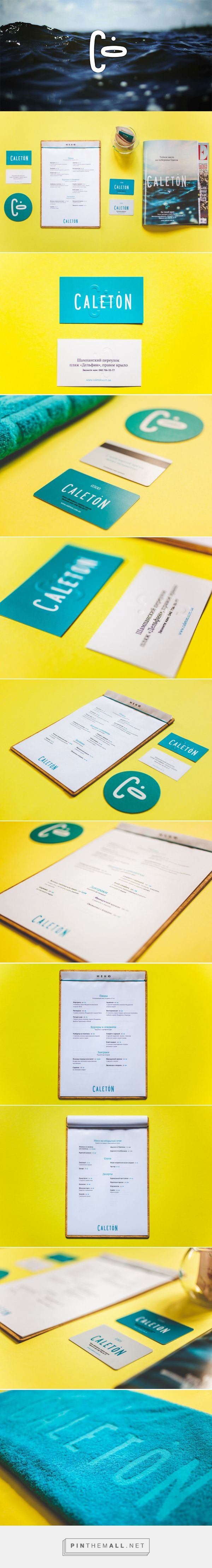 Logo and brand identity for a beach club. Best and one of a kind! Odessa, Ukraine
