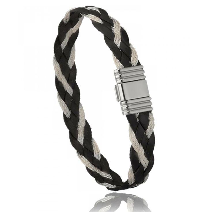 Bracelet homme cuir - Di-Angelo