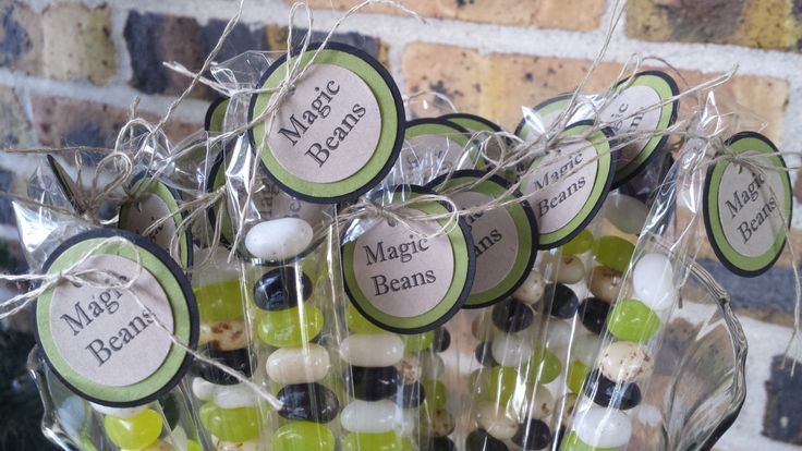 20 Jack and the Beanstalk Party Favors, Magic Beans Jack and the Beanstalk, Jack…