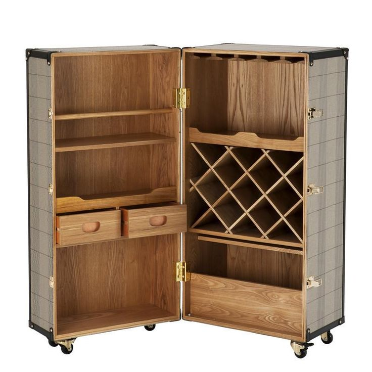Wooden Wine Cabinet | Eichholtz Martini Bianco