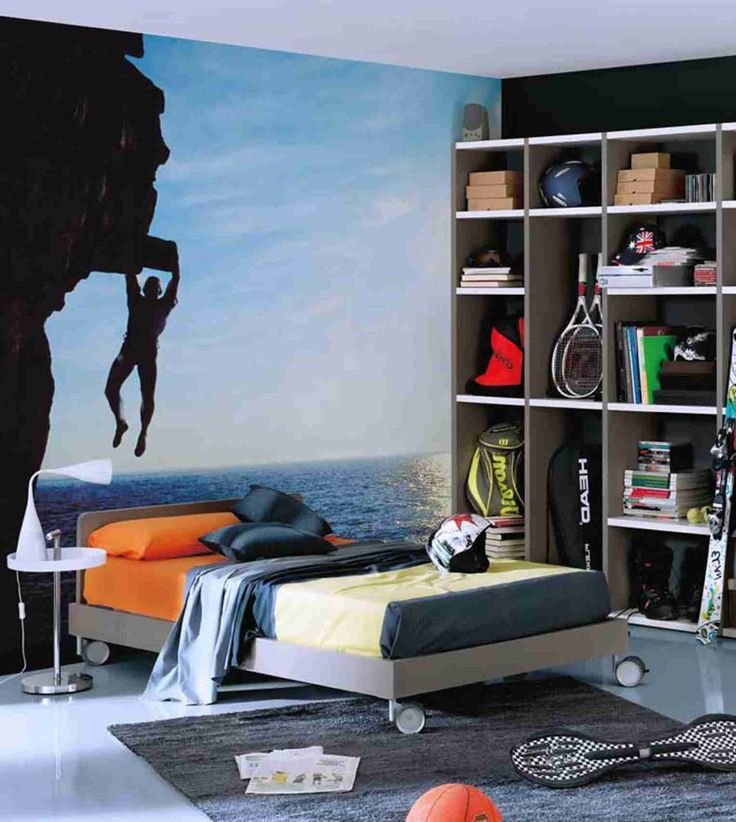 Best 25+ Teenage Boy Bedrooms Ideas On Pinterest