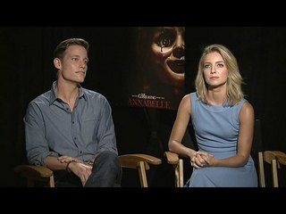 Annabelle: Annabelle Wallis & Ward Horton Junket Interview --  -- http://www.movieweb.com/movie/annabelle/annabelle-wallis-ward-horton-junket-interview