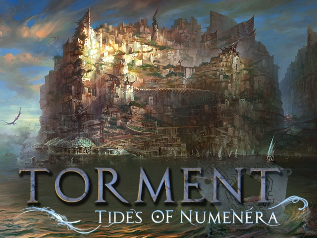 Torment: Tides of Numenera by inXile entertainment, via Kickstarter. Currently at 3.6 million!!