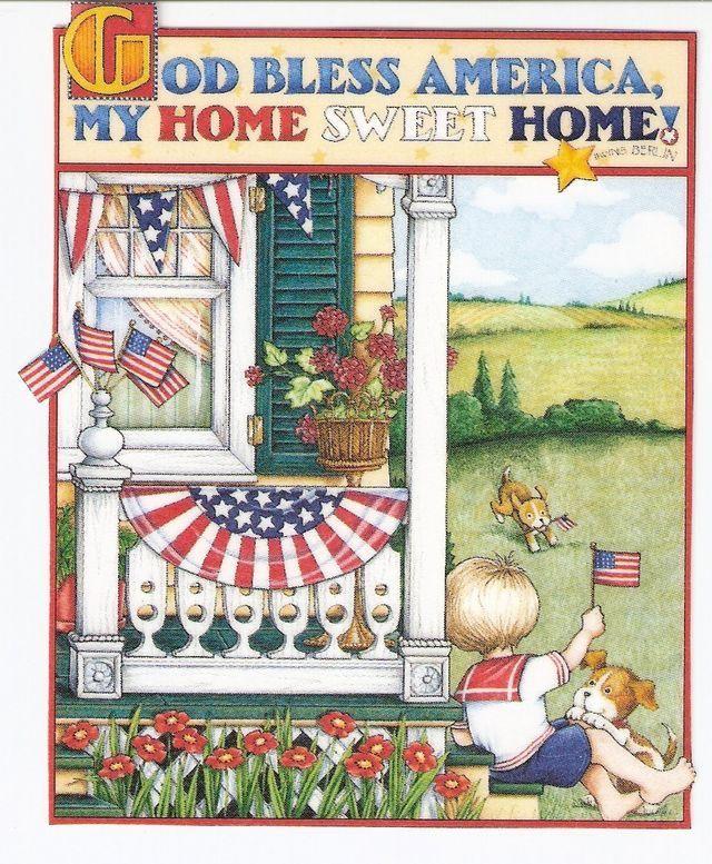 God Bless America by Mary Engelbreit