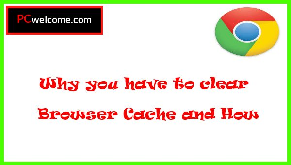 I will tell you today why it's important to clear browser cache and I will show you how to do it. there's a tutorial + video to understand more!