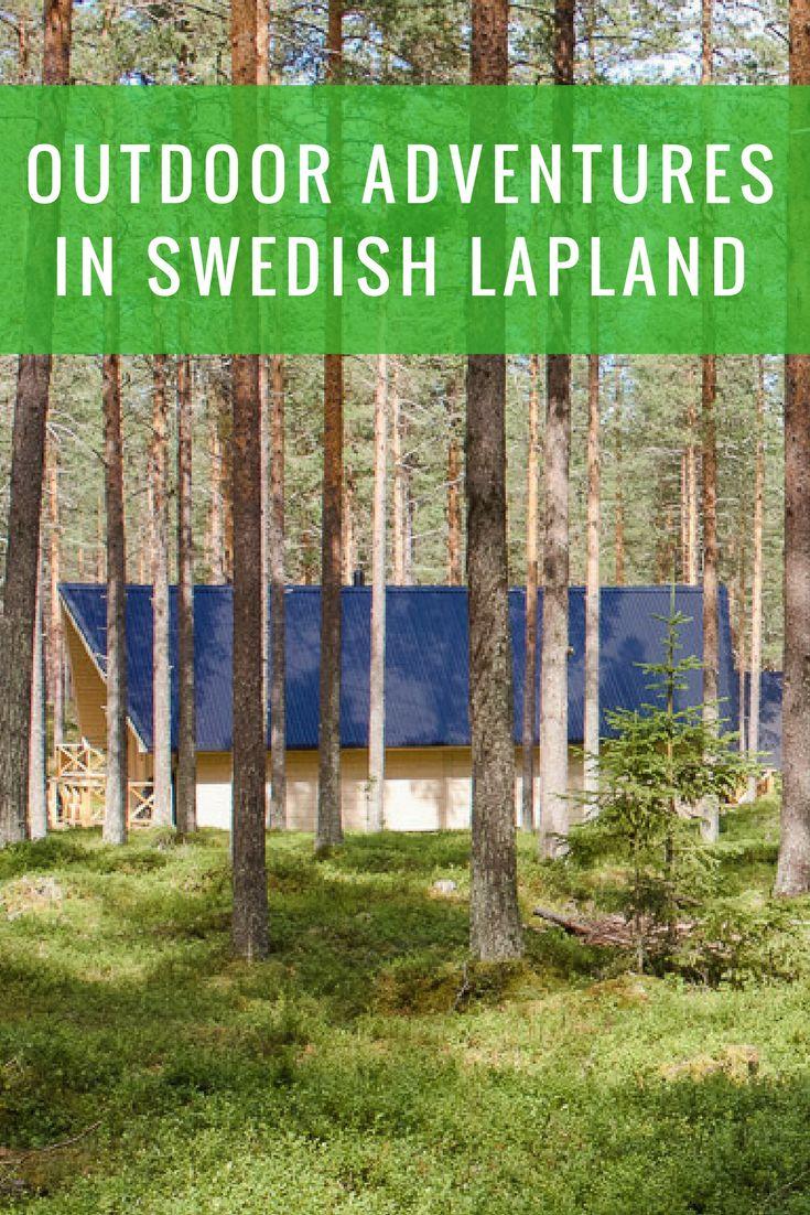 Outdoor adventures in Swedish Lapland range from log rafting to moose safaris. #sweden #outdoors #adventure #travel #europe