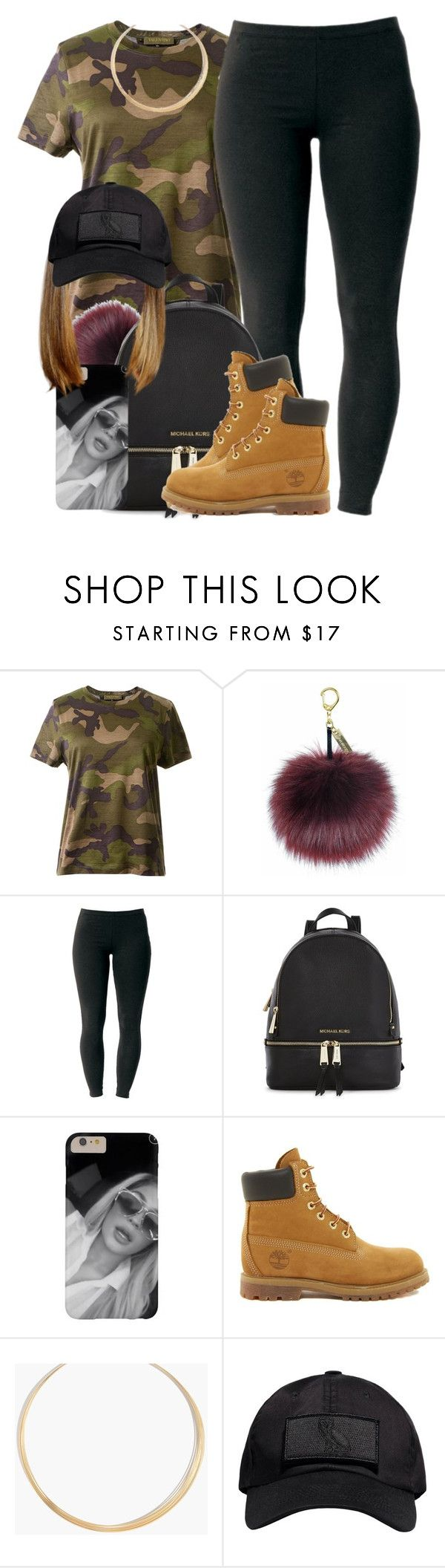 """Inspired by @nasiaamiraaa"" by ariangrant ❤ liked on Polyvore featuring Valentino, Joe Browns, Michael Kors, Timberland, Madewell and October's Very Own"