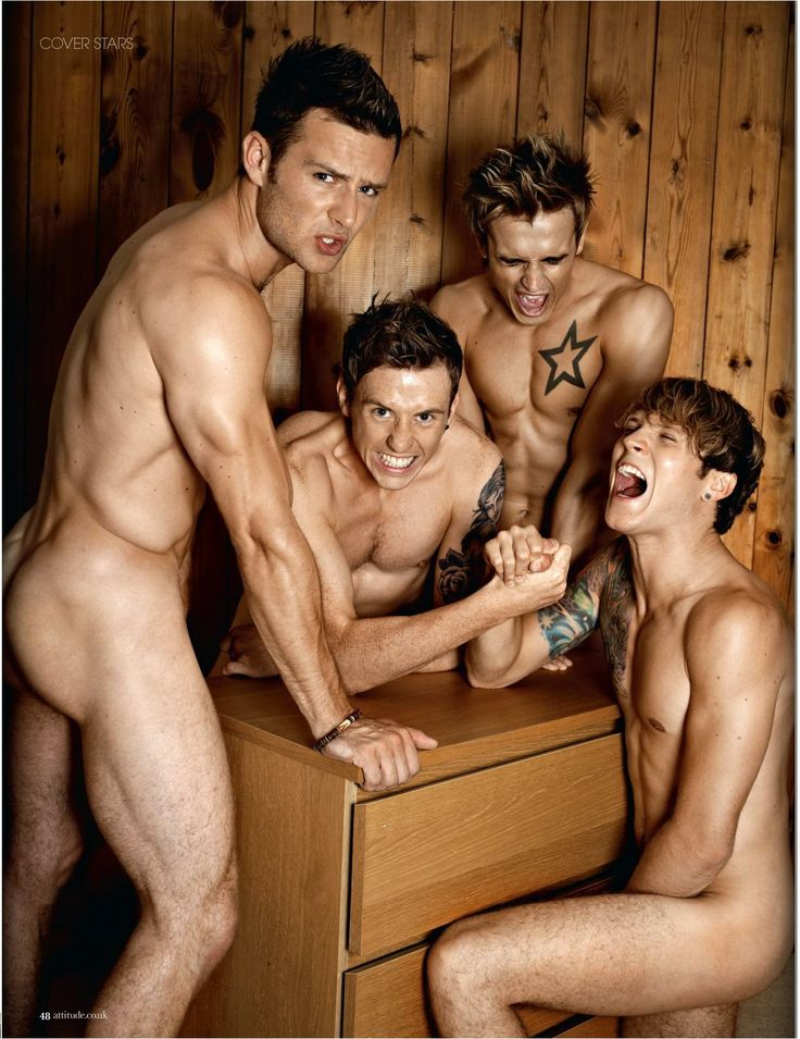 McFly, music, Attitude Magazine, August 2010, 2010, harry judd, danny jones, tom fletcher, dougie poynter