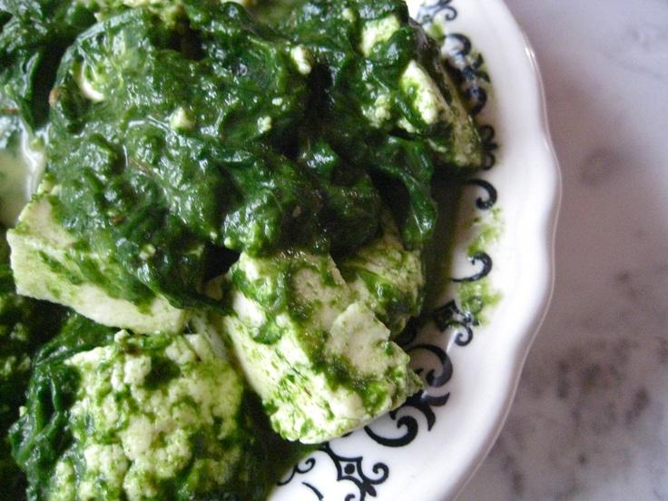 ψO : Palak Paneer : Creamy Spinach with Homemade Cheese