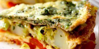 Prepara un rico omelette de vegetales ¡Delicioso!