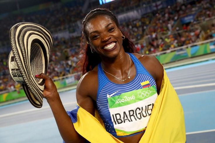 Caterine Ibargüen, la reina del triple salto