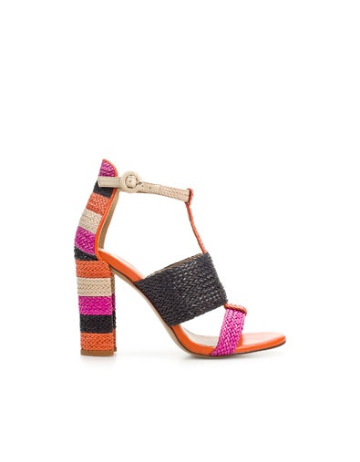 WOVEN THONG SANDAL - Shoes - Woman - ZARA United States  www.zara.com