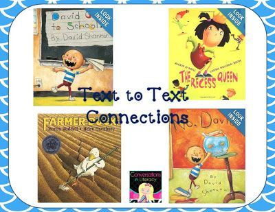Teaching Text to Text Connections: books about respect
