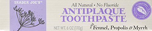 # ProfessionalDentalSupplies All #Natural No Fluoride Anti Plaque Toothpaste with Fennel, Propolis & Myrrh. #Pack of 2 6 oz tubes. It can be a real challenge to f...