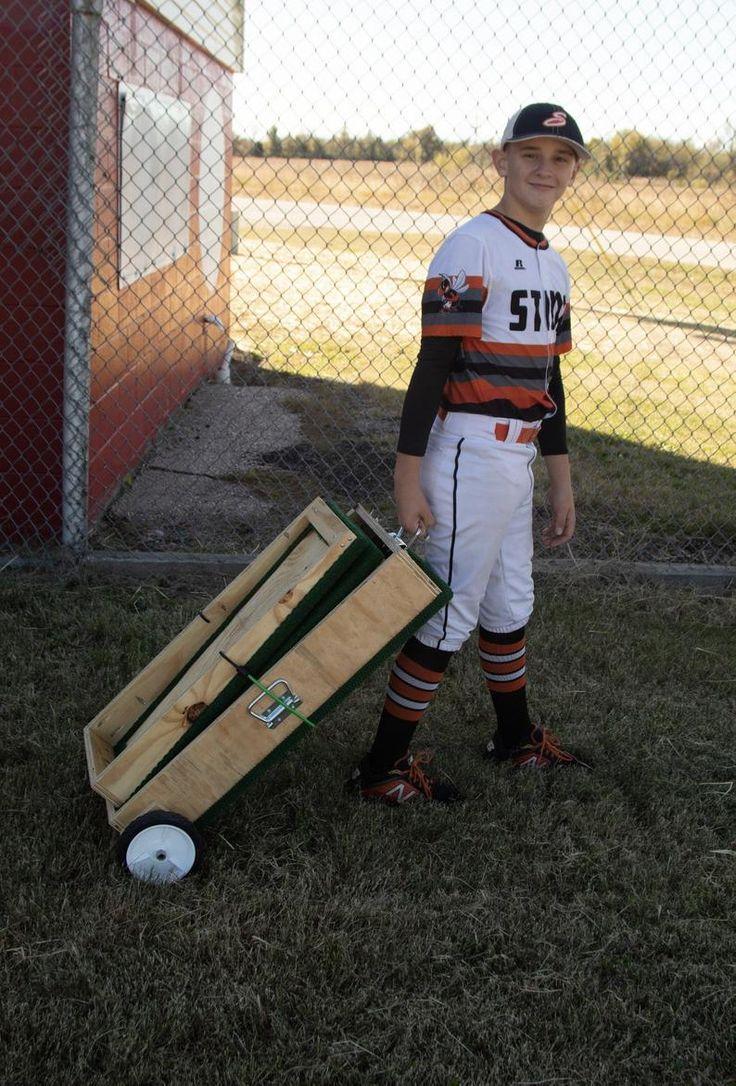 6 Tall StepStraight Youth Baseball Pitchers Training