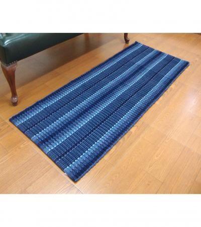 Elysia Bed Side Runner  Blue Bed Side Runner  Offer Price Rs.1150/-
