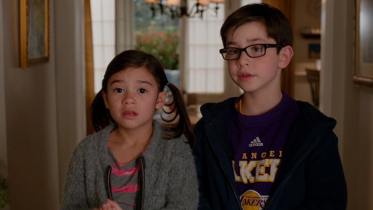 Ralph Lauren glasses and Adidas x Los Angeles Lakers t shirt worn by Owen Vaccaro in DADDY'S HOME (2015) @ralphlauren @adidas #LosAngelesLakers