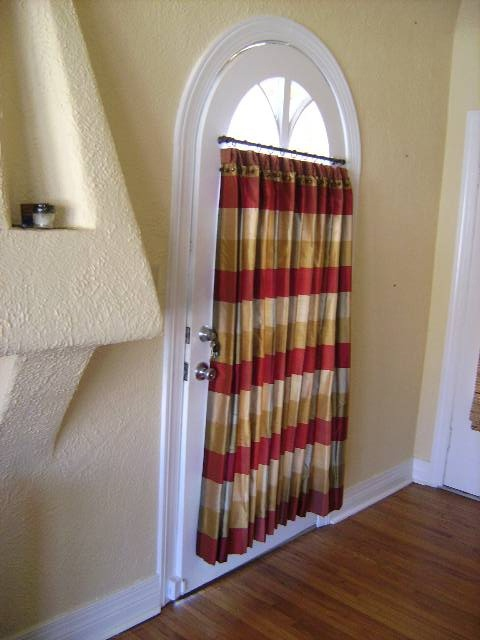 Silk Euro Pleated Cafe Curtains W Banding Micro Cording Decorative Trim At Top Designer
