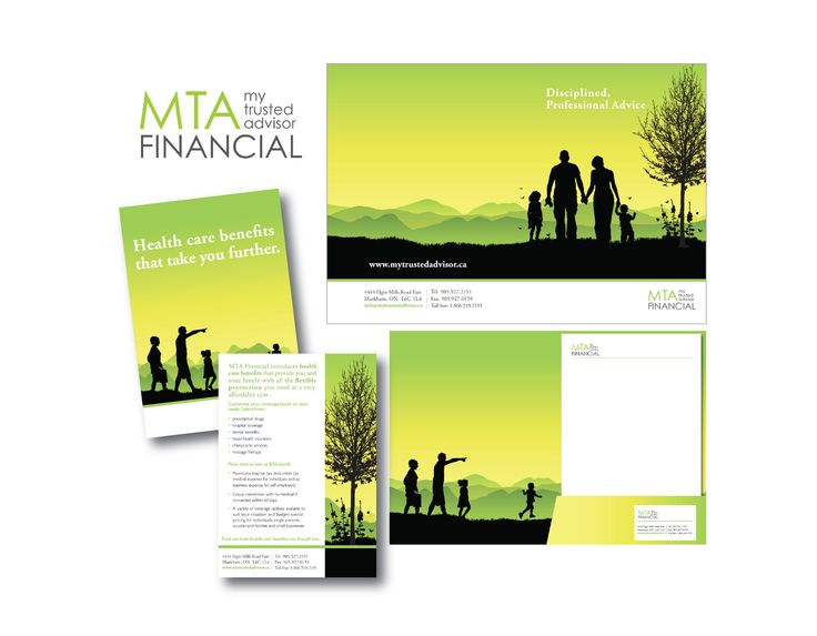 MTA Financial Branding + Corporate Communications Design