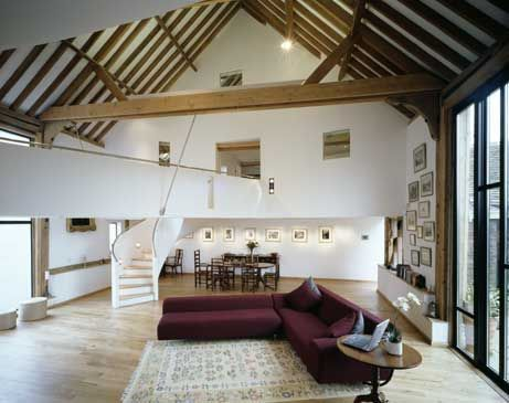 Threshing Barn - amazing barn conversion on Grand Designs