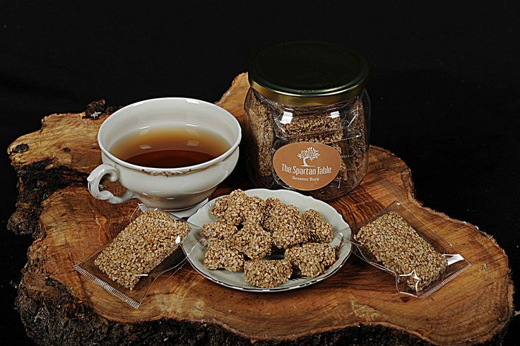 Sesame Bars Handmade, Nougat with sesame and honey, Pasteli, a treat You can't resist SPECIAL PROMO