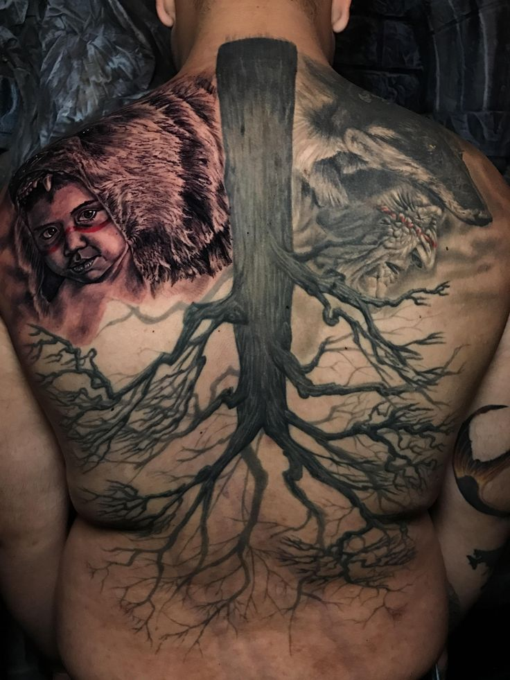 Remember your roots. Art by Logan Aguilar from Last Rites Tattoo (NYC)