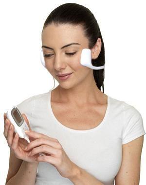 Аппарат миостимулятор для лица: омоложение лица, лифтинг и подтяжка кожи лица Slendertone FACE by Philip Treacy (специальная серия)