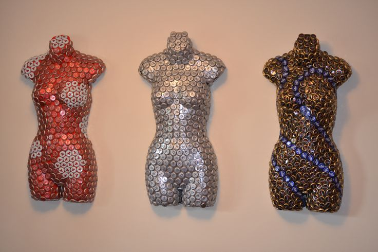 Holly, Molly & Polly Bottle cap art on exhibition at Torche Gallery in Belmar, NJ through December 2014.